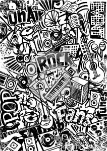 concert-event-doodle-handdrawing-created-paper-42745551