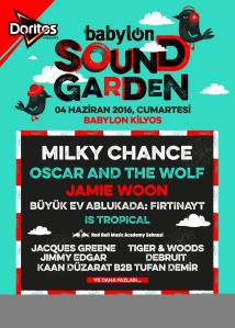 Doritos Presents Babylon Soundgarden Afiş